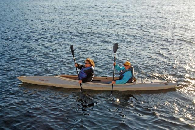 Women Kayaking in the San Juan Islands